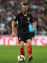 Croatia's Antonio Milic during the UEFA Nations League, Group A4 match at Wembley Stadium, London. PRESS ASSOCIATION Photo. Picture date: Sunday November 18, 2018. See PA story SOCCER England. Photo credit should read: Mike Egerton/PA Wire. RESTRICTIONS: Use subject to FA restrictions. Editorial use only. Commercial use only with prior written consent of the FA. No editing except cropping.