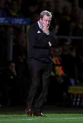 Birmingham City manager Harry Redknapp looks dejected on the touchline during the Sky Bet Championship match at the Pirelli Stadium, Burton.