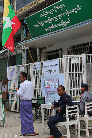 Burma - Myanmar's national elections on 8 November 2015