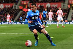 Dele Alli of Tottenham Hotspur  - Mandatory by-line: Matt McNulty/JMP - 18/04/2016 - FOOTBALL - Britannia Stadium - Stoke, England - Stoke City v Tottenham Hotspur - Barclays Premier League