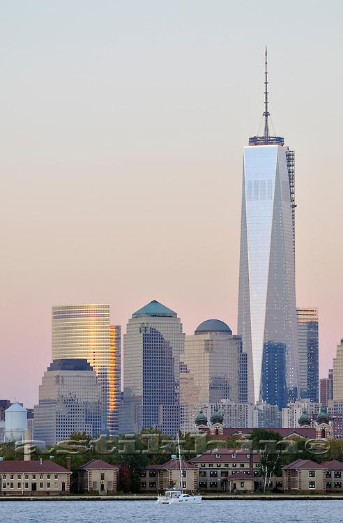 World Trade Center (Freedom Tower) in Manhattan.