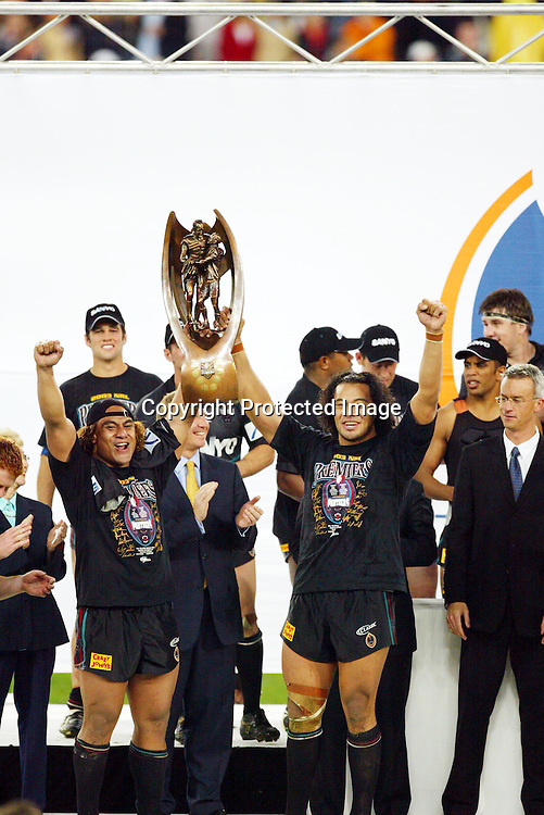 5th October 2003. Rugby League, NRL Grand Final, Telstra Stadium, Sydney, Australia. Penrith Panthers vs Sydney Roosters, <br />