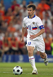 SERGEI SEMAK.RUSSIA  FC RUBIN KAZAN.HOLLAND V RUSSIA, EURO 2008.ST JAKOB-PARK, BASEL, SWITZERLAND.21 June 2008.DIU80310..  .WARNING! This Photograph May Only Be Used For Newspaper And/Or Magazine Editorial Purposes..May Not Be Used For, Internet/Online Usage Nor For Publications Involving 1 player, 1 Club Or 1 Competition,.Without Written Authorisation From Football DataCo Ltd..For Any Queries, Please Contact Football DataCo Ltd on +44 (0) 207 864 9121