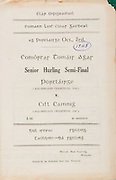 All Ireland Senior Hurling Championship - Semi-final, .03101948AISHCSF.03.10.1948, 10.03.1948, 3rd October 1948,.Waterford v Kilkenny, .