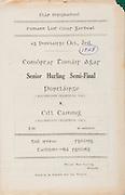 All Ireland Senior Hurling Championship - Semi-final, .03101948AISHCSF.03.10.1948, 10.03.1948, 3rd October 1948,.Waterford v Kilkenny, .