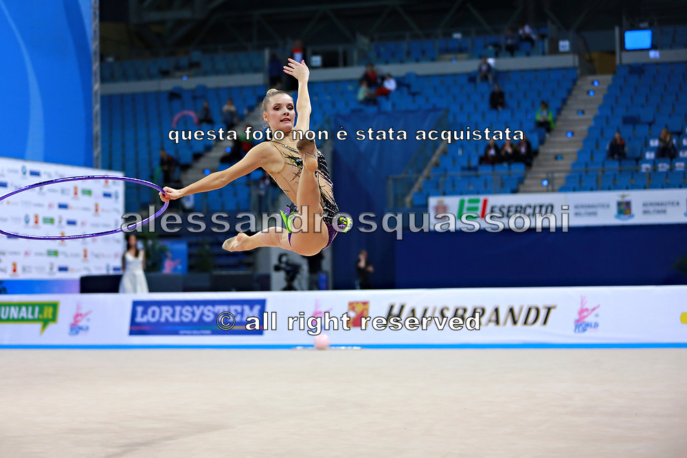 Laura Jung was born 25 June 1995 in St. Wendel, Germany is a German retired individual rhythmic gymnast.
