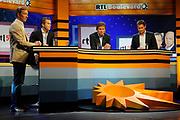 Perspresentatie 2010/2011 RTL [4578] in Studio 21 in Hilversum. <br /> <br /> op de foto:  Rick Nieman , Winston Gerschtanowitz, Robert ten Brink en Bert Habets (CEO van RTL Nederland)