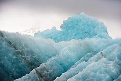 BGlacier ice on Svalbard