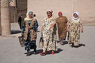 street life in the old city  KHIVA  Ouzbekistan  .///.la vie des rues dans la vielle ville a l interieur des remparts.  KHIVA  Ouzbekistan .///.OUZB56303