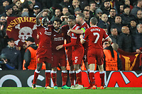 Esultanza Gol Mohamed Salah 2-0 Goal celebration <br /> Liverpool 24-04-2018 Football Champions League 2017/2018 Semifinal First Leg Liverpool - AS Roma Foto Gino Mancini/Insidefoto