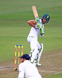 Faf du Plessis during day one of the first test match between South Africa and New Zealand held at the Kingsmead stadium in Durban, KwaZulu Natal, South Africa on the 19th August 2016<br /> <br /> Photo by:   Anesh Debiky / Real Time Images
