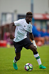 NUNEATON, ENGLAND - Saturday, July 29, 2017: Liverpool's Toni Gomes during a pre-season friendly between Liverpool and Coventry City at the Liberty Way Stadium. (Pic by Paul Greenwood/Propaganda)