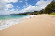 Laie Beach Parks, aka Pounders,Oahu, Hawaii