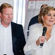 NLD/Ridderkerk/20121120 - Lancering Helden magazine nr.16, Ronald Koeman en partner Bartina Borderveld