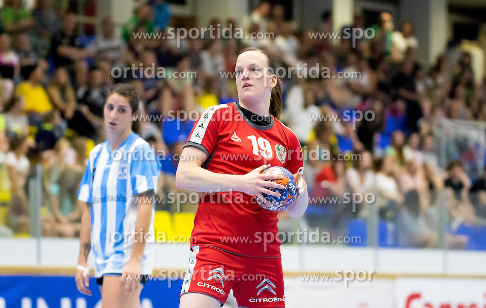 29.05.2016, BSFZ Südstadt, Maria Enzersdorf, AUT, ÖHB, Testspiel, Österreich vs Argentinien, im Bild Katrin Engel (AUT)// during the women's friendly match between Austria and Argentina at the BSFZ Südstadt, Maria Enzersdorf, Austria on 2016/05/29, EXPA Pictures © 2016, PhotoCredit: EXPA/ Sebastian Pucher