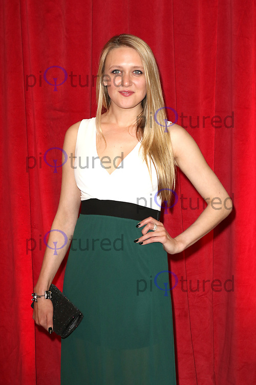 Emily Head, British Soap Awards, Lowry Theatre, Manchester UK, 03 June 2017, Photo by Richard Goldschmidt