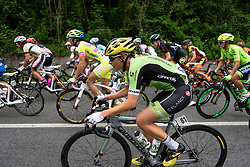 Doris Schweizer (Cylance Pro Cycling) at Giro Rosa 2016 - Stage 2. A 111.1 km road race from Tarcento to Montenars, Italy on July 3rd 2016.