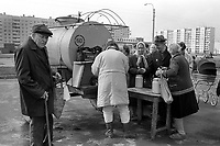 Milk queue<br />