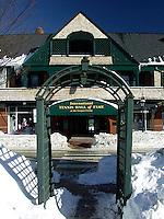 Entrance to International Tennis Hall of Fame, Newport, Rhode Island