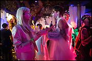 JOHAN LUNDIN; RASMUS OSTEBRO, Andrew Logan's Alternative Miss World 2014. Shakespeare's Globe, London. 18 October 2014.
