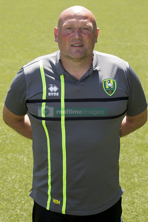 assistant trainer Dirk Heesen during the team presentation of ADO Den Haag on July 17, 2017 at Kyocera stadium in The Hague, The Netherlands.