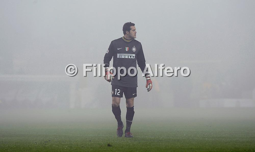 &copy; Filippo Alfero<br /> Juventus vs Inter - Serie A 2009 / 2010<br /> Torino - 05/12/2009<br /> sport calcio<br /> Nella foto: Julio Cesar