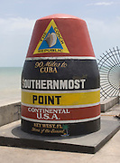 southernmost point marker Key West USA
