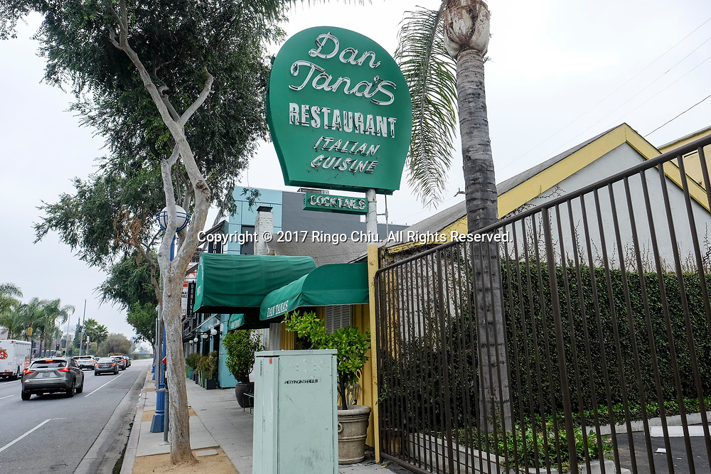Tana's restaurant in West Hollywood.  (Photo by Ringo Chiu)<br /> <br /> Usage Notes: This content is intended for editorial use only. For other uses, additional clearances may be required.