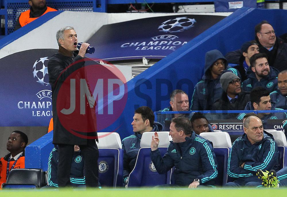 Chelsea Manager Jose Mourinho - Mandatory byline: Paul Terry/JMP - 09/12/2015 - Football - Stamford Bridge - London, England - Chelsea v FC Porto - Champions League - Group G