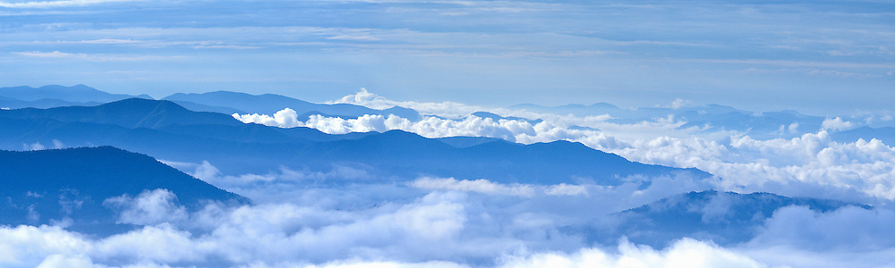Sea of Clouds, Great Smoky Mountains National Park, Tennessee.