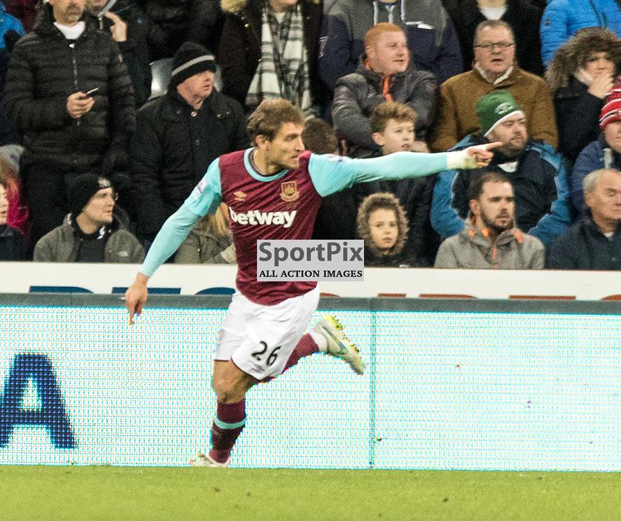 West Ham United's Nikica Jelavic celebrates his goal just after coming off the bench......(c) MARK INGRAM | SportPix.org.uk