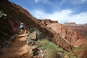 Hiking in the Grand Canyon National Park, Arizona, USA