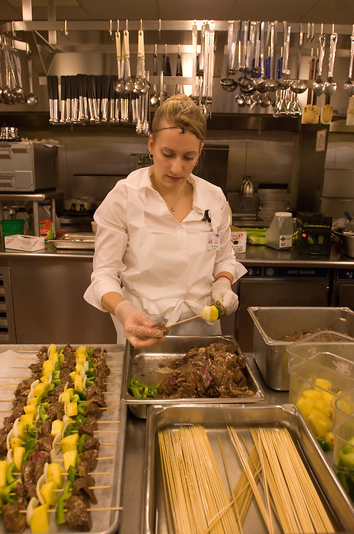 Woman in a Nutrition and Food Science lab