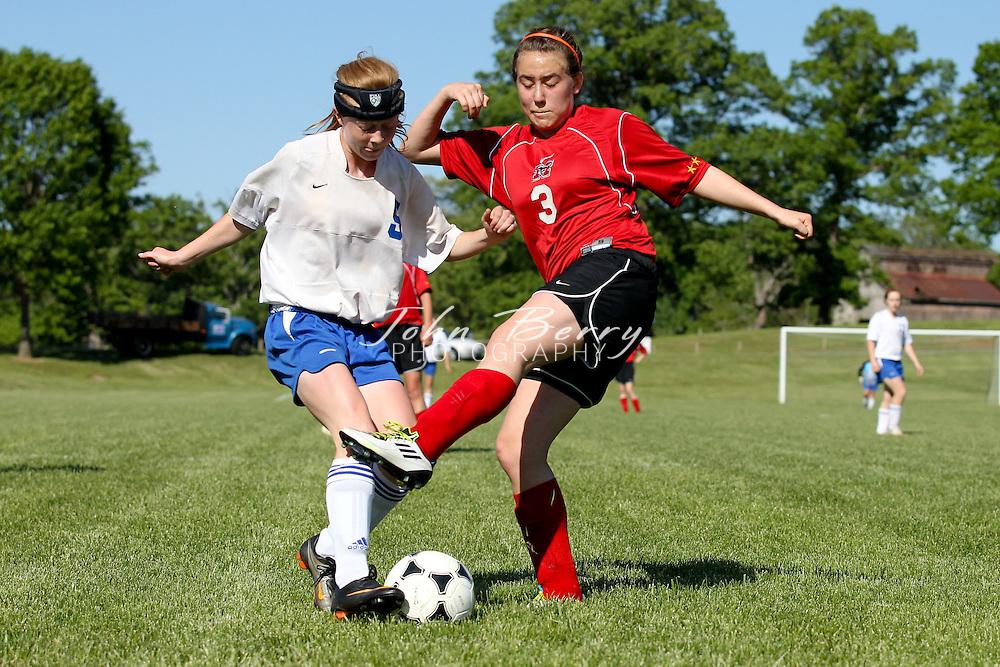 May/5/11:  MCHS JV Girls soccer vs George Mason.  George Mason wins 1-0.