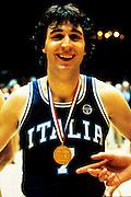 Europei Francia 1983 - Nantes: Enrico Gilardi medaglia d'oro