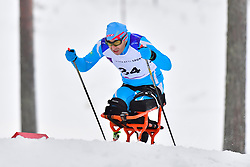 USSOLTSEV Sergey, KAZ, LW12 at the 2018 ParaNordic World Cup Vuokatti in Finland