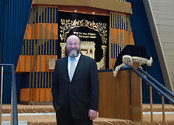 The UK's Chief Rabbi elect Rabbi Ephraim Mirvis  at the St. John's Wood Synagogue in London, Wednesday, 19th December 2012  Photo by: i-Images