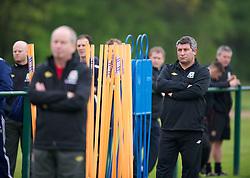 CARDIFF, WALES - Saturday, May 19, 2012: Wales' coach Osian Roberts during an FAW Coaching course at the Glamorgan Sports Park. (Pic by David Rawcliffe/Propaganda)