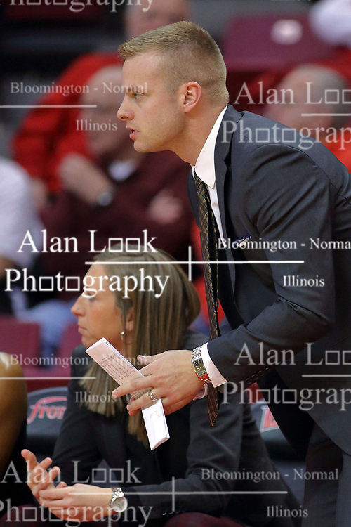 10 December 2017: Scott Gillespie during an College Women's Basketball game between Illinois State University Redbirds and the Eagles of Eastern Michigan at Redbird Arena in Normal Illinois.