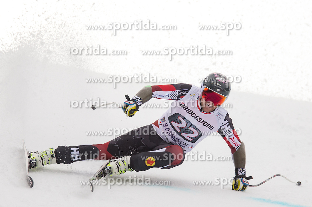 28.01.2016, Kandahar, Garmisch Partenkirchen, GER, FIS Weltcup Ski Alpin, Abfahrt, Herren, 1. Training, im Bild Benjamin Thomsen (CAN) // Benjamin Thomsen of Canada competes in his 1st training run for the men's Downhill of Garmisch FIS Ski Alpine World Cup at the Kandahar course in Garmisch Partenkirchen, Germany on 2016/01/28. EXPA Pictures © 2016, PhotoCredit: EXPA/ Johann Groder