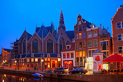 Amsterdam's Oldest Parish Church located in the red light district