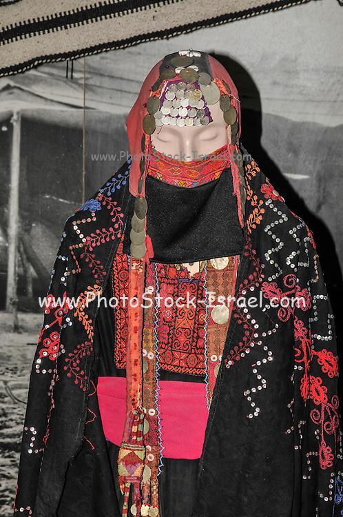 The Joe Alon Museum of Bedouin Culture, Negev, Israel Traditional dress of woman