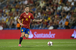 October 6, 2017 - Alicante, Spain - Saul Ã'iguez (Atletico) during the qualifying match for the World Cup Russia 2018 between Spain and Albaniaat the Jose Rico Perez stadium in Alicante, Spain on October 6, 2017. (Credit Image: © Jose Breton/NurPhoto via ZUMA Press)