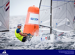 From 9 to 16 September 2018, the Tokyo 2020 Olympic Sailing Competition venue in Enoshima, Japan, will host sailors for the first event of the 2019 World Cup Series. More than 450 sailors from 45 nations will race in the 10 Olympic events.  &copy;JESUS RENEDO/SAILING ENERGY/ WORLD SAILING<br /> 12 September, 2018.