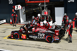 August 17, 2018 - Silverstone, Angleterre - 3 REBELLION RACING (CHE) REBELLION R13 GIBSON LMP1 MATHIAS BECHE (CHE) THOMAS LAURENT (FRA) GUSTAVO MENEZES  (Credit Image: © Panoramic via ZUMA Press)