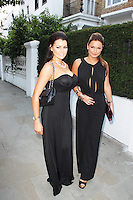 Jessica Wright; Sam Faiers, ITV Summer Reception, Chepstow Villas, London UK, 17 July 2013, (Photo by Brett Cove)