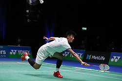 2017?3?8? .     ?????1????——??????????????.       3?8???????????.       ????????????2017???????????????????????2?0??????Marc Zwiebler???????.       ????????.(SP) BRITAIN-BIRMINGHAM-BADMINTON-ALL ENGLAND OPEN-FIRST ROUND.(170308) -- BIRMINGHAM, Mar. 8, 2017  Chen Long of China returns the shuttlecock during the men's singles first round match with Marc Zwiebler of Germany at All England Open Badminton 2017 in Birmingham, Britain on Mar. 8, 2017. (Credit Image: © Han Yan/Xinhua via ZUMA Wire)