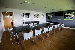 Box 8 room set up- Mandatory by-line: Robbie Stephenson/JMP - 16/06/2020 - RUGBY - Sixways Stadium - Worcester, England - Sixways Stadium Room Shots