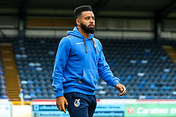 Alex Jakubiak of Bristol Rovers arrives at Adams Park for the Sky Bet League One fixture against Wycombe Wanderers - Mandatory by-line: Robbie Stephenson/JMP - 18/08/2018 - FOOTBALL - Adam's Park - High Wycombe, England - Wycombe Wanderers v Bristol Rovers - Sky Bet League One