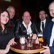 NLD/Amsterdam/20140325 - Boekpresentatie Bobbi Eden, Henk Bres
